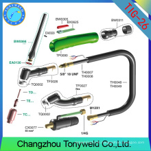 WP26 tig torch welding machine parts